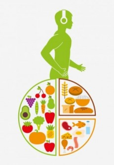 Nutrition And Health Design, Vector Illustration Eps10 Graphic